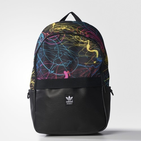 Adidas Originals Essentials Backpack Black/Multicolor AO3423
