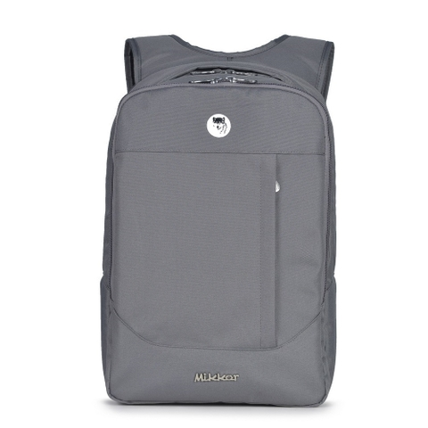 Balo Laptop Mikkor The Arthur Premier Dark Mouse Grey