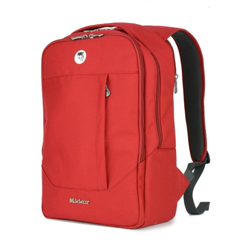 Balo Laptop Mikkor The Arthur Premier Red