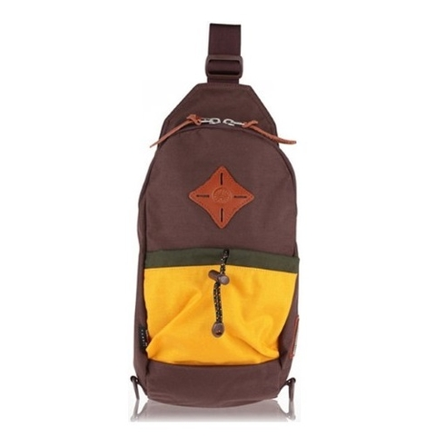 Bean Pole Outdoor Bag Brown/Yellow