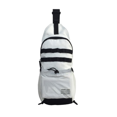 Bean Pole Outdoor Bag White
