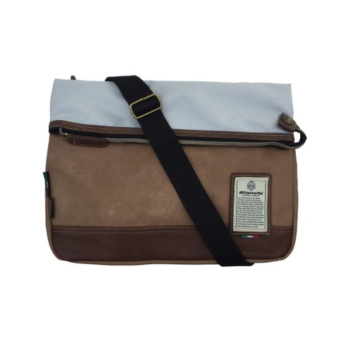 Bianchi Bespoke Bag Brown/White