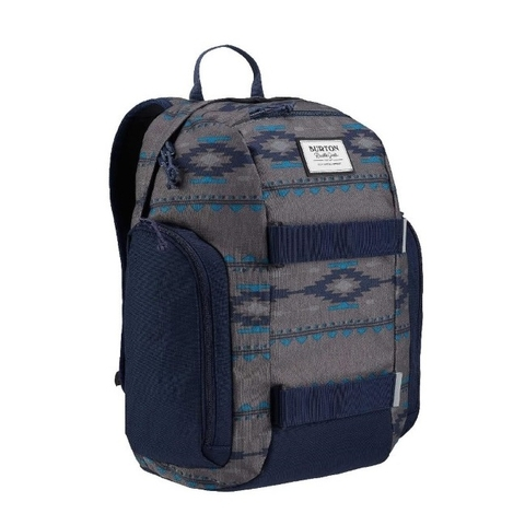 Burton Kids' Metalhead Backpack Faded Saddle Stripe