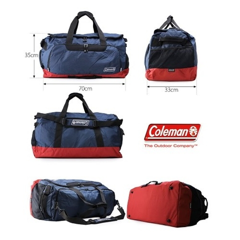 Coleman 2 Way Boston Bag 80L Black