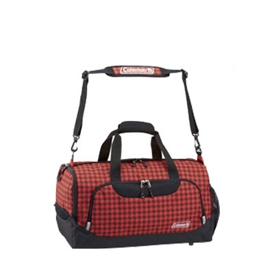 Coleman 2 Way Boston Bag 35L Red Gingham