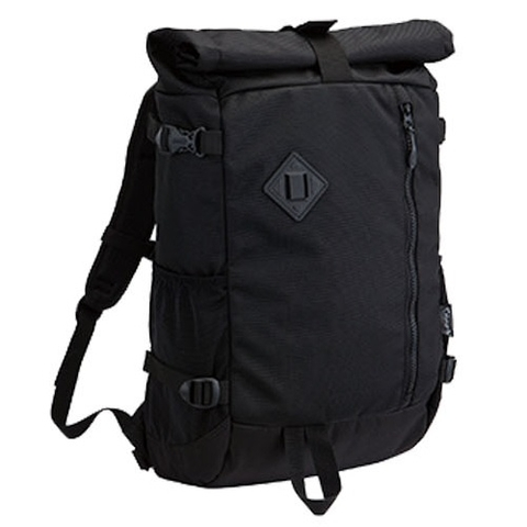 Coleman Atlas Roll Top Backpack Black