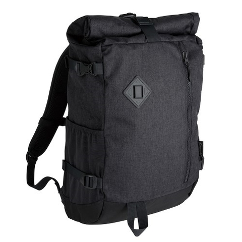 Coleman Atlas Roll Top Backpack Grey