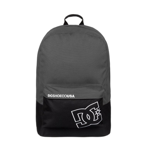 DC Bunker Solid Backpack Black/Grey