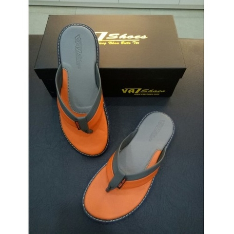 Dép kẹp VAZ Grey/Orange