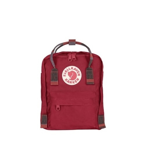 Fjallraven Kanken Mini Deep Red/Random Blocked
