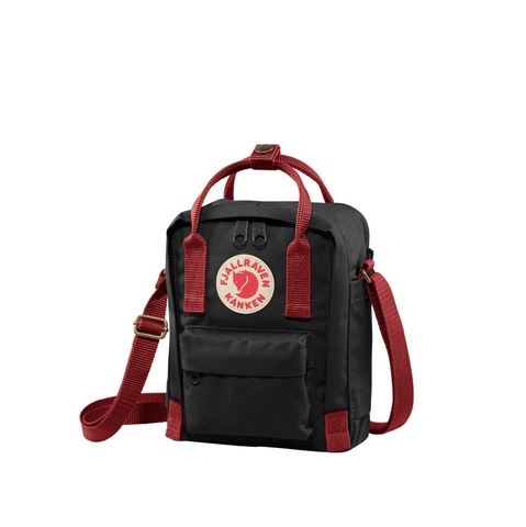 Fjallraven Kanken Sling Black/Ox Red