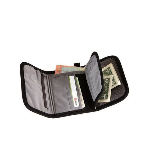 Jack Wolfskin Embankment Wallet Black