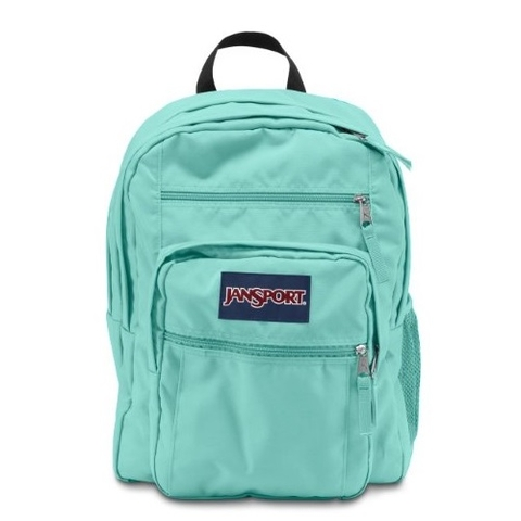 Jansport Big Student Backpack Aqua Dash