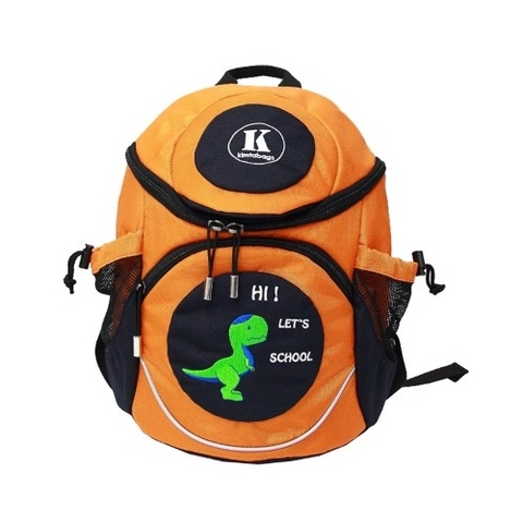 Kimtabags Starter Kid Backpack Orange/Navy