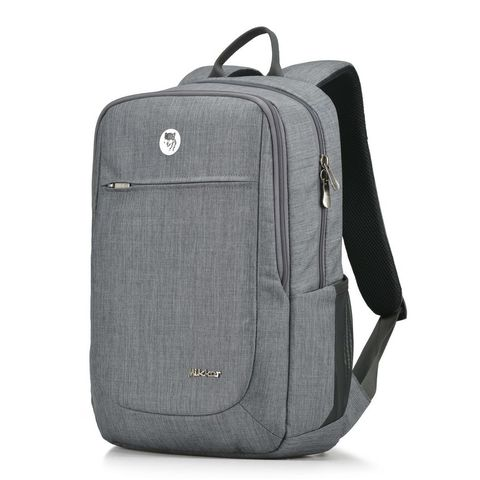 Balo Laptop Mikkor The Edwin Premier Light Grey
