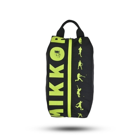 Mikkor The Adler Shoe Bag Black/Lime