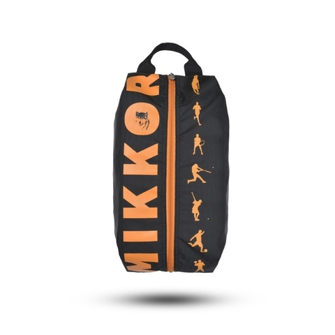 Mikkor The Adler Shoe Bag Black/Orange
