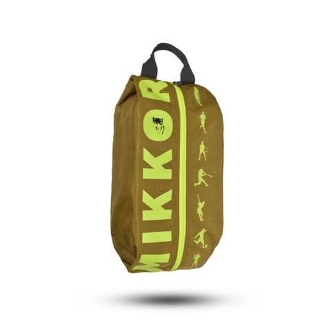 Mikkor The Adler Shoe Bag Mustard/Lime