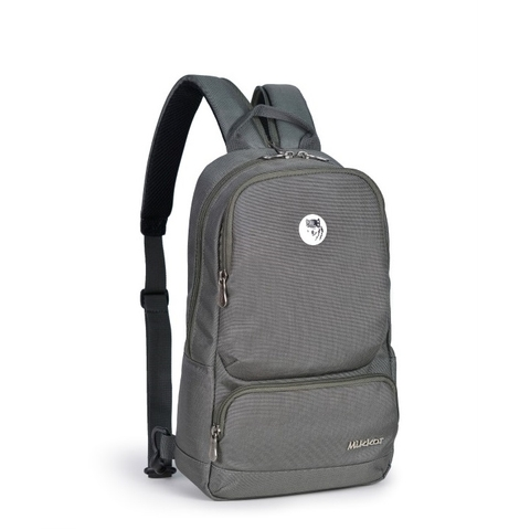 Mikkor The Betty Slingpack Dark Mouse Grey