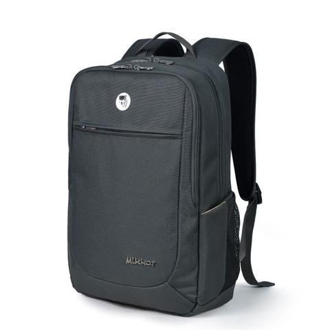 Mikkor The Edwin Backpack Charcoal