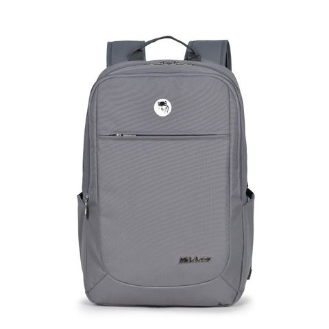 Mikkor The Edwin Backpack Dark Mouse Grey