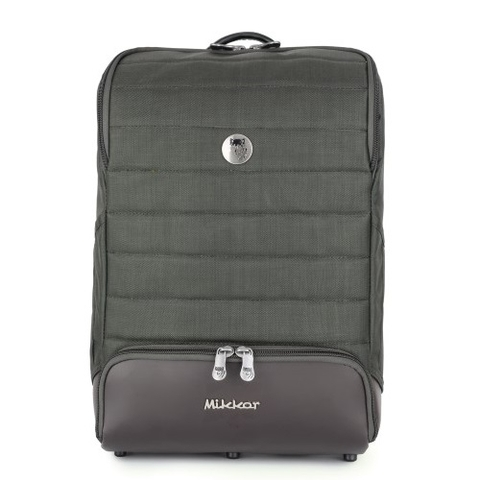 Mikkor The Igor Backpack Grey