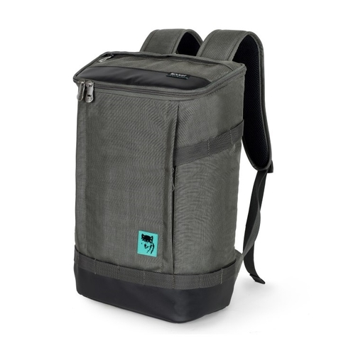 Mikkor The Irvin Backpack Dark Mouse Grey