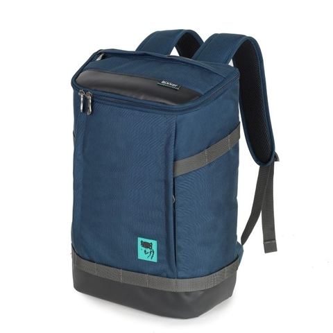 Mikkor The Irvin Backpack Navy