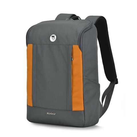 Balo laptop Mikkor The Kalino Graphite/Orange