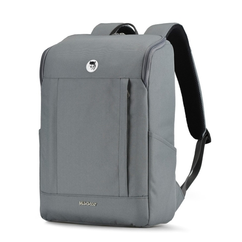 Balo laptop Mikkor The Kalino Light Grey