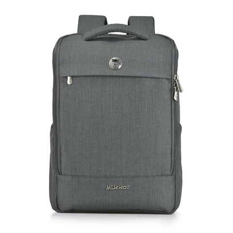 Balo laptop Mikkor The Lewie Graphite