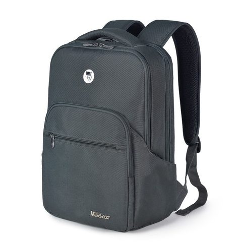 Mikkor The Maddox Backpack Charcoal