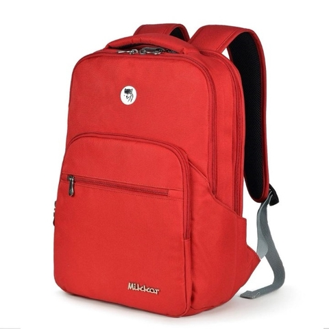 Mikkor The Maddox Backpack D.Red