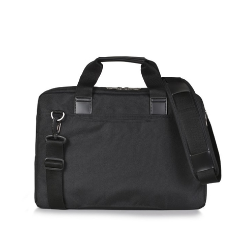 Mikkor The Ralph Briefcase Black