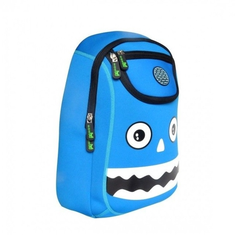Balo cho bé Nohoo Monster NH006 Blue