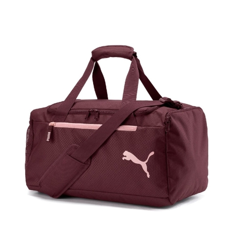 Puma Fundamentals Sports Bag Dark Garnet