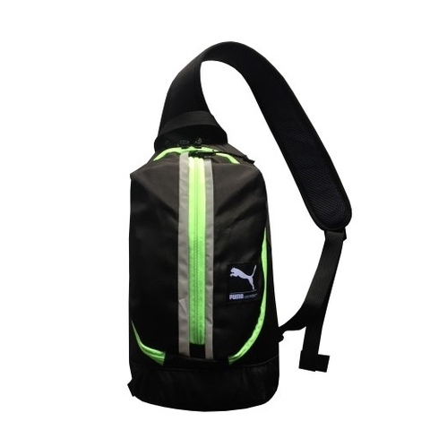 Puma Sport Body Bag PS06 Black/Green