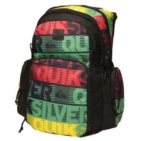 Quiksilver 1969 Special Backpack Comp Word Stripe Black