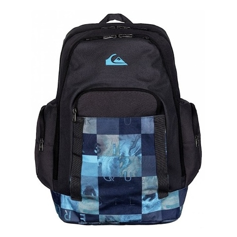 Quiksilver 1969 Special Backpack Checks Hawaiian Ocean