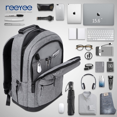 Balo Laptop Reeyee RY1030 L.Grey
