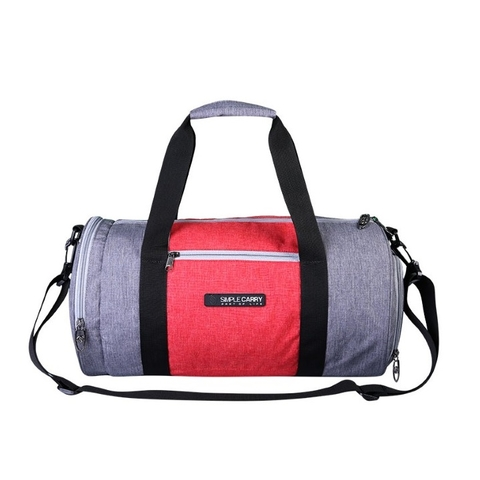 Simplecarry Gymbag Grey/Red