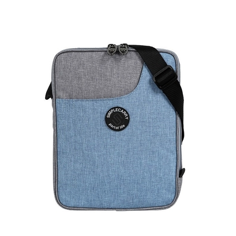 Simplecarry LC Ipad Grey/Blue