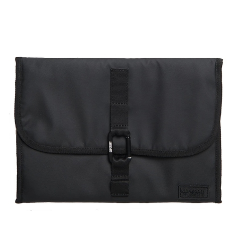 Superdry Hook Wash Bag Black