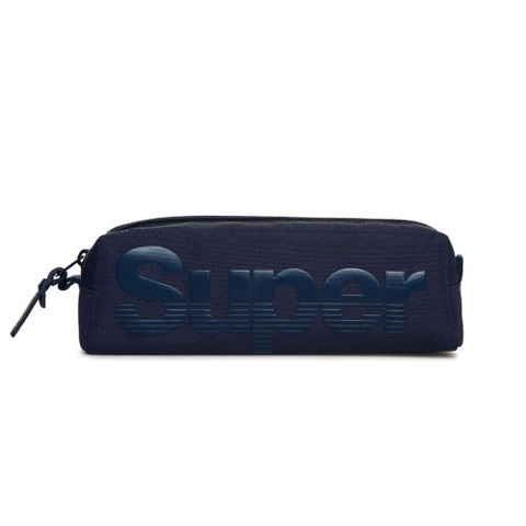 Superdry Buff Pencil Case Navy