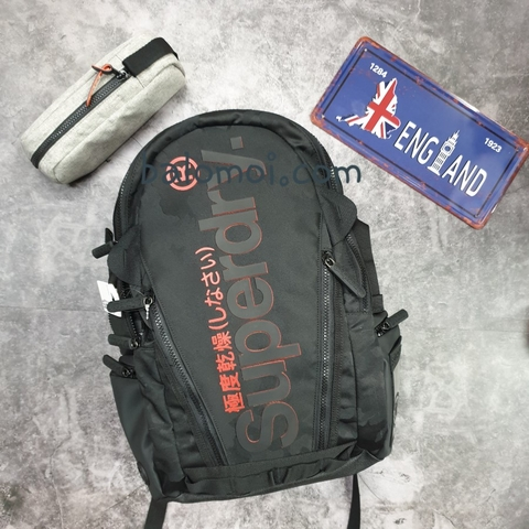 Superdry Camo Tarp Backpack Black