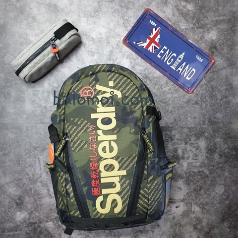 Superdry Camo Tarp Backpack Green