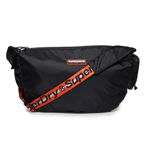Superdry Damon Side Messenger Black