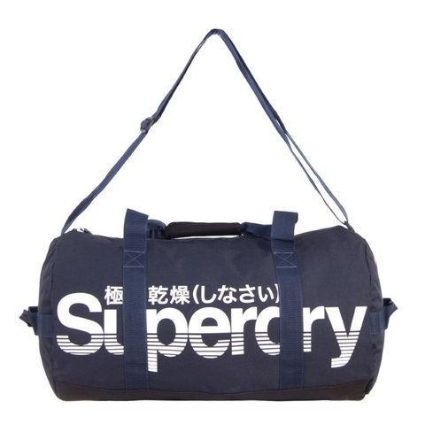 Superdry Flash Lineman Barrel Bag Navy