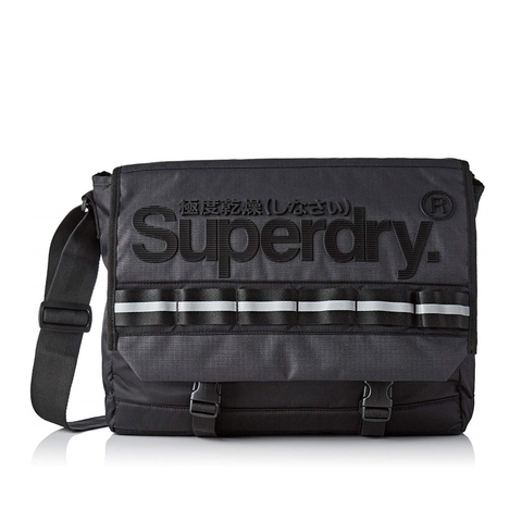Superdry Line Merchant Messenger Black