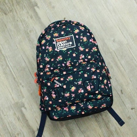 Superdry Silicone Montana Backpack Flower SMB02